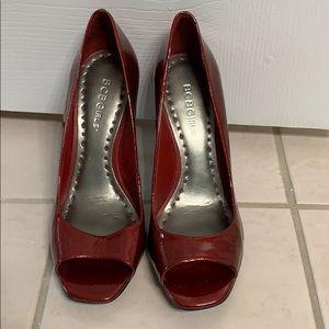 Bcbgirls Shoes Leather Snake Skin Heels In Teal Poshmark